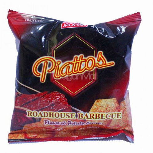 JACK N' JILL PIATTOS ROADHOUSE BARBECUE 40G