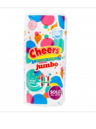 Cheers Kitchen Towel Jumbo 2ply 80s