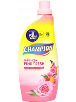 Champion Fabric Conditioner Pink Fresh Bottle 1L