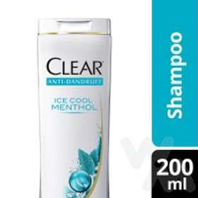 CLEAR SHAMPOO ICE COOL MENTHOL 200ML