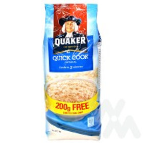QUAKER QUICK COOKING OATS 800G