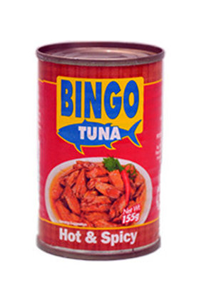 BINGO TUNA HOT & SPICY 155G