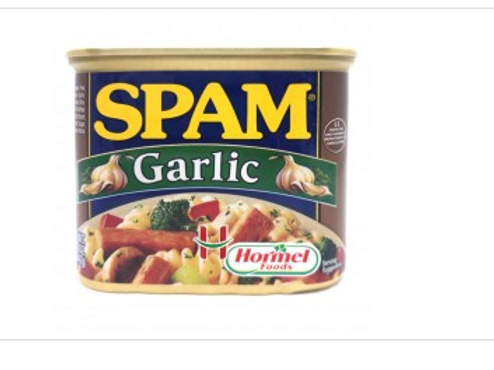 Spam Garlic Flavor 340g