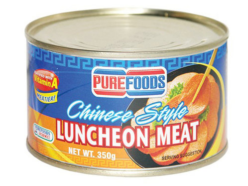 PUREFOODS CHINESE STYLE LUNCHEON MEAT 350G
