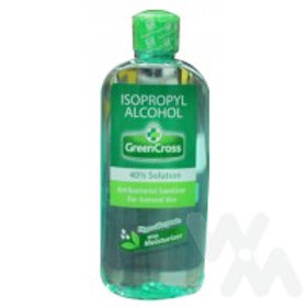 GREEN CROSS ALCOHOL ISOPROPHYL ALCOHOL 40% 250ML