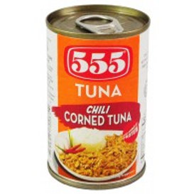 555 Chili Corned Tuna 150g