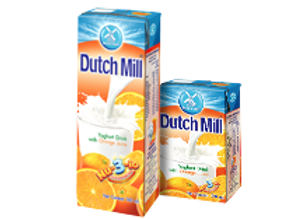 DUTCH MILL YOGHURT ORANGE 180ML