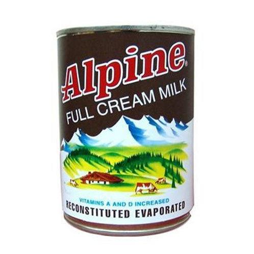 ALPINE FULL CREAM EVAPORATED MILK 370 ML