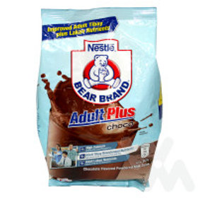 BEAR BRAND ADULT PLUS CHOCO 600G