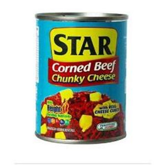 Star Corned Beef Chunky Cheese 175g