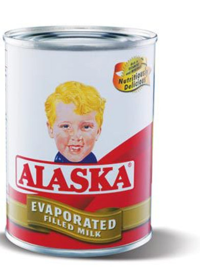 ALASKA ALASKA EVAPORATED MILK 370 ML