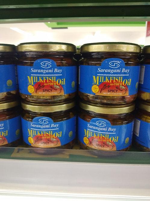 Sarangani Bay Milkfish in Corn Oil - Spicy