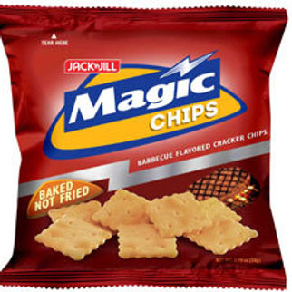 MAGIC CHIPS BARBECUE 28G