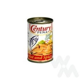 CENTURY TUNA HOT & SPICY EASY OPEN 155G