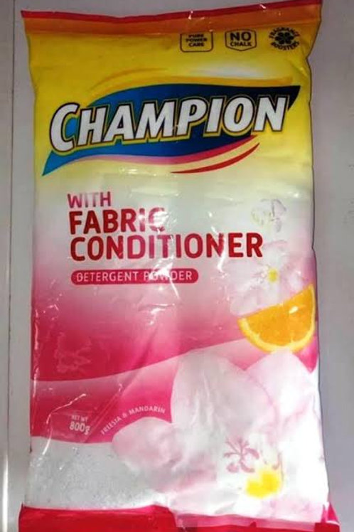 Champion Laundry Powder With Fabric Conditioner 800g