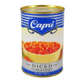 CAPRI DICED TOMATOES 400g