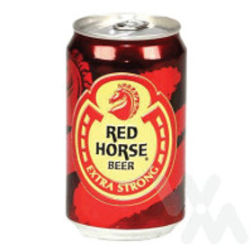 RED HORSE BEER CAN 330ML