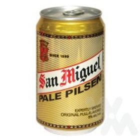 SAN MIGUEL BEER PALE PILSEN IN CAN