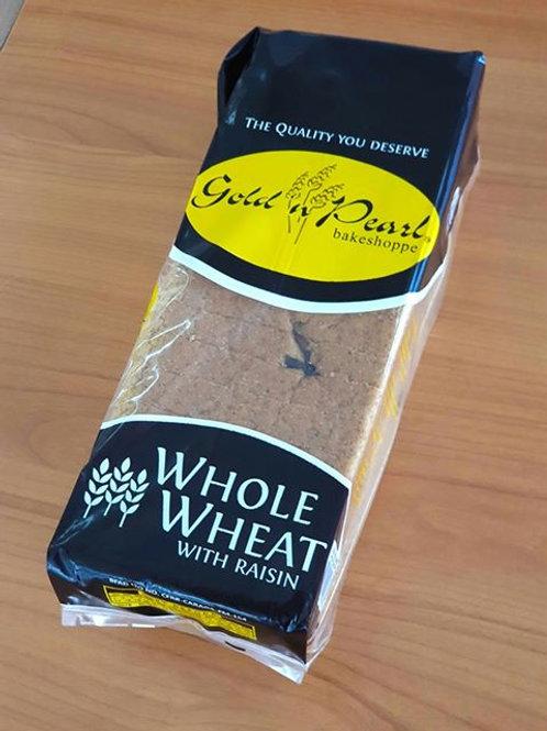 Gold n' Pearl Wheat Bread w/ Raisin