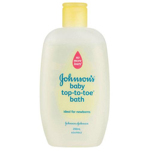 JOHNSON'S BABY TOP TO TOE BATH 200ML