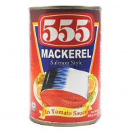 555 MACKEREL TOMATO SAUCE 425g