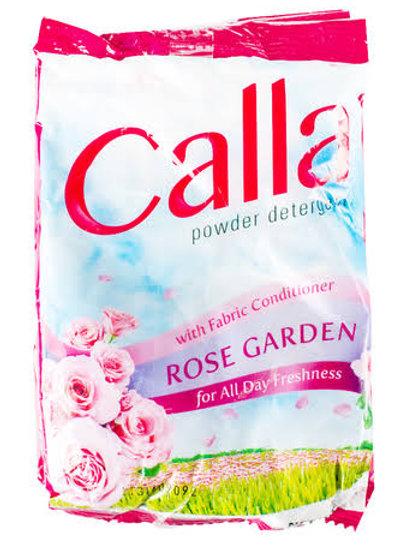 Calla Powder With Fabric Conditioner Rose Garden 6'S 45g