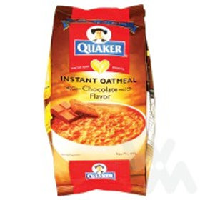 QUAKER INSTANT OATMEAL CHOCOLATE FLAVORED 400G