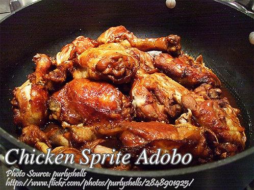 RECIPE INGREDIENTS - Chicken Sprite Adobo (Complete w/list)