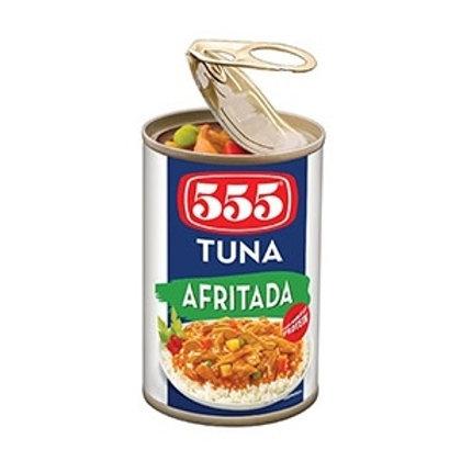 555 TUNA – AFRITADA 155G