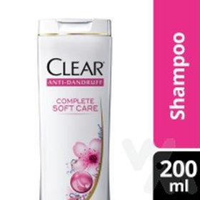 CLEAR SHAMPOO COMPLETE SOFT CARE 200ML