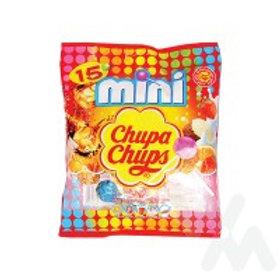 CHUPA CHUPS MINI ASSORTED LOLLIPOP 6G, 15S