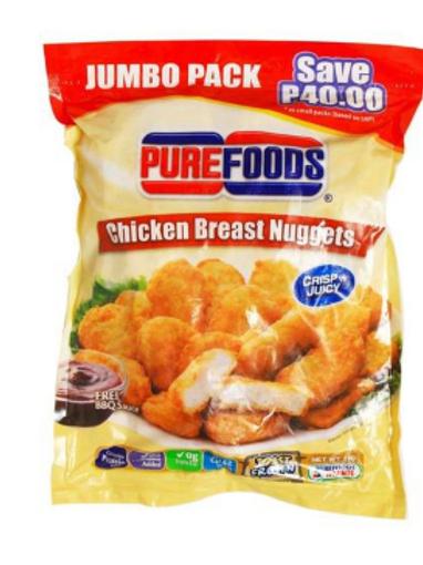 Purefoods Chicken Breast Nuggets
