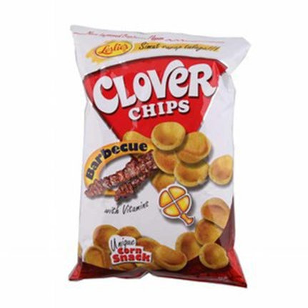 CLOVER CHIPS BARBECUE 85G