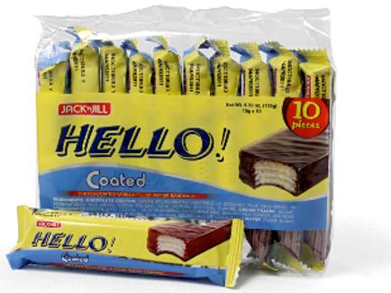 HELLO WAFER WHITE CHOCOLATE 10S