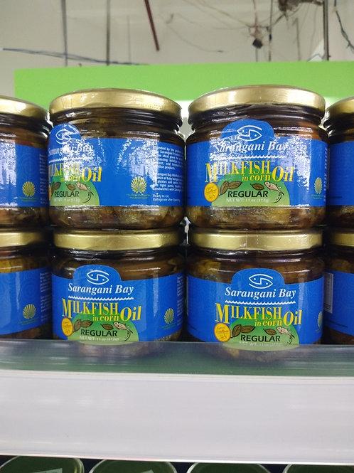Sarangani Bay Milkfish in Corn Oil - Regular