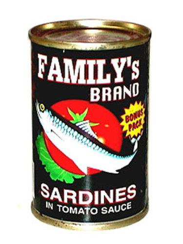 FAMILY'S BRAND SARDINES REG. 155G