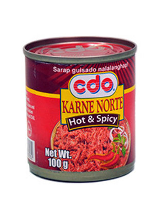 CDO KARNE NORTE HOT & SPICY 100G