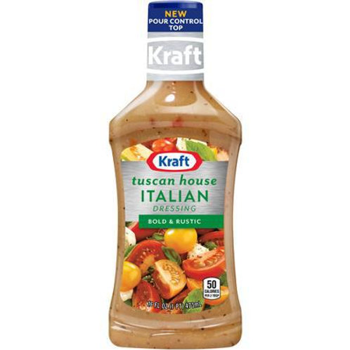 KRAFT TUSCAN HOUSE ITALIAN DRESSING 16OZ