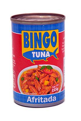 BINGO TUNA AFRITADA 155G