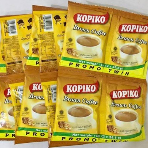 Kopiko Brown Twin Pack 10's