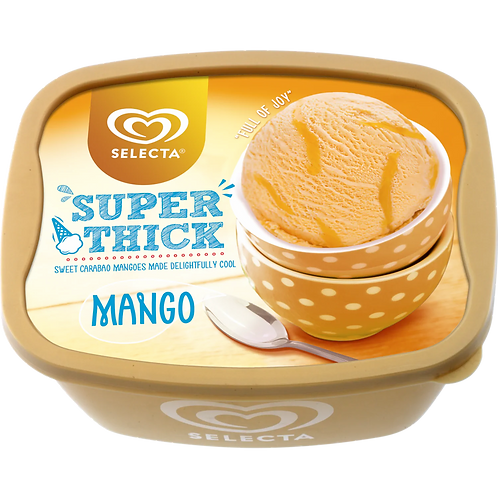 Selecta Super Think Mango Ice Cream 1.4L