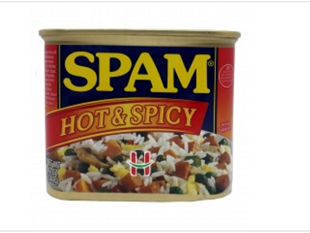 Spam Hot And Spicy Flavor 340g