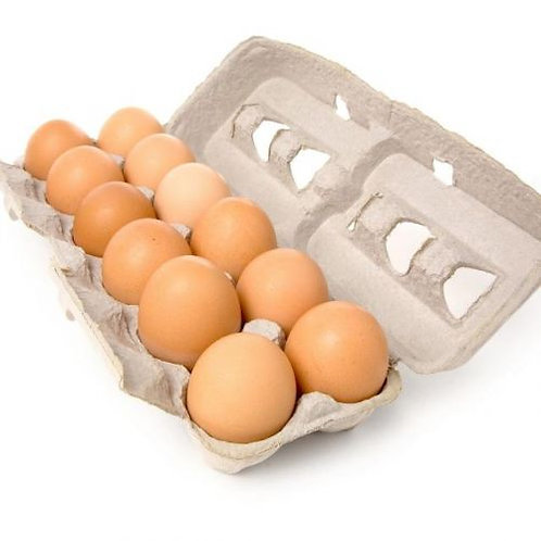 Organic Brown Eggs 1doz