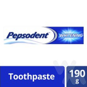 PEPSODENT TOOTHPASTE WHITENING 190G