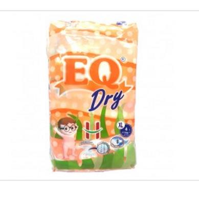 EQ Baby Dry Diaper XL 4s