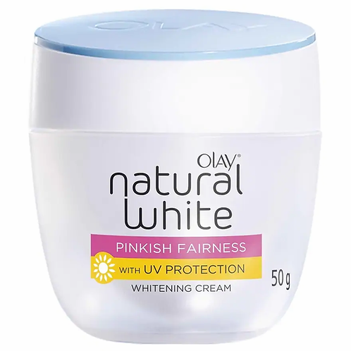 Olay Natural White 7 In One Insta-Glow With UV Protection Fairness Cream 50g