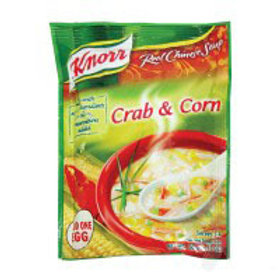 KNORR CRAB & CORN SOUP 60G