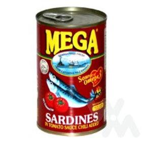 MEGA SARDINES IN TOMATO SAUCE CHILI 425G