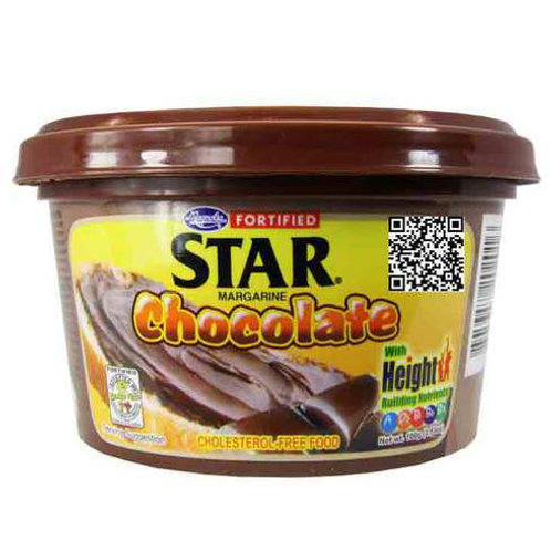 FORTIFIED STAR MARGARINE CHOCOLATE 100G