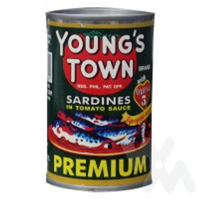 YOUNGSTOWN SARDINES TOMATO 155H
